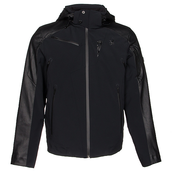 Spyder Icon Mens Insulated Ski Jacket (Previous Season), Black, 600