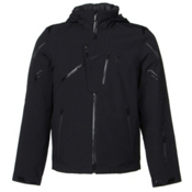 Spyder Monterosa Mens Insulated Ski Jacket, Black-Black-Polar, medium
