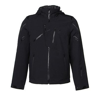 Spyder Monterosa Mens Insulated Ski Jacket (Previous Season), Volcano-Black-Bryte Yellow, viewer