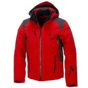 Spyder Bromont Mens Insulated Ski Jacket, Volcano-Polar-Black, medium