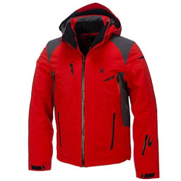 Spyder Bromont Mens Insulated Ski Jacket (Previous Season), Volcano-Polar-Black, 256