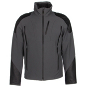 Spyder Heir Mens Insulated Ski Jacket, Polar-Black-Black, medium