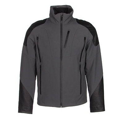 Spyder Heir Mens Insulated Ski Jacket (Previous Season), White-Black-Volcano, viewer