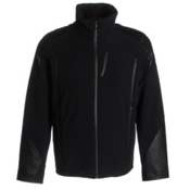 Spyder Heir Mens Insulated Ski Jacket, Black-Black-Black, medium