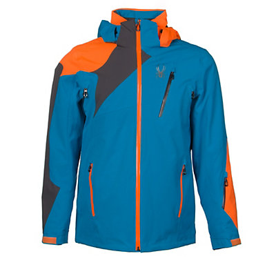 Spyder Vyper Mens Insulated Ski Jacket (Previous Season), Polar-Bryte Yellow-Theory Green, viewer