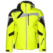 Spyder Titan Mens Insulated Ski Jacket (Previous Season), Bryte Yellow-Black-Cirrus, medium
