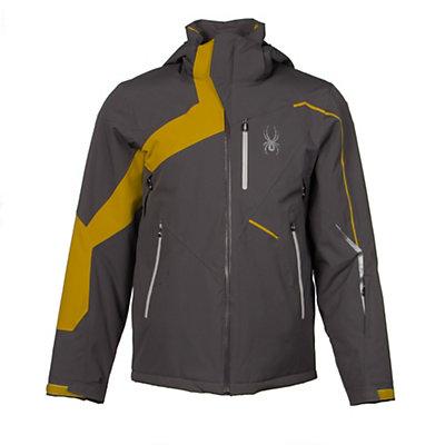 Spyder Rival Mens Insulated Ski Jacket (Previous Season), Polar-Electric Blue-Bryte Yellow, viewer