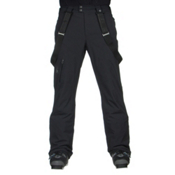 Spyder Dare Athletic Short Mens Ski Pants, Black, medium