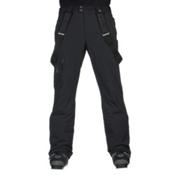 Spyder Dare Athletic Short Mens Ski Pants, Black, medium
