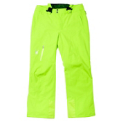 Spyder Dare Athletic Long Mens Ski Pants, Theory Green, medium