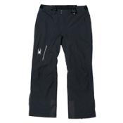 Spyder Dare Tailored Long Mens Ski Pants (Previous Season), Black, medium