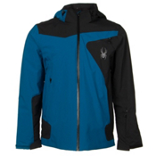 Spyder Sentinel Mens Insulated Ski Jacket, Concept Blue-Black, medium
