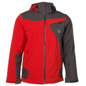 Spyder Sentinel Mens Insulated Ski Jacket, Volcano-Polar, medium