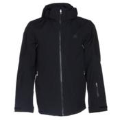 Spyder Sensor Mens Insulated Ski Jacket, Black-Black-Black, medium