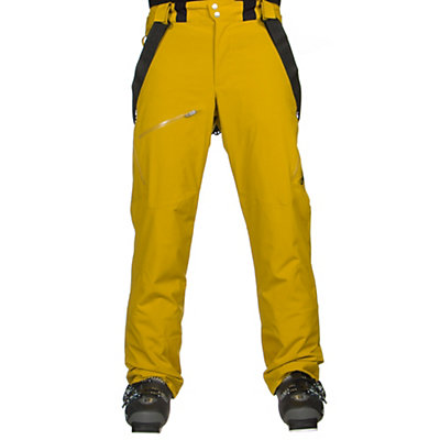 Spyder Propulsion Tailored Mens Ski Pants (Previous Season), Bryte Yellow, viewer