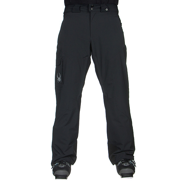 Spyder Troublemaker Long Mens Ski Pants, Black, 600