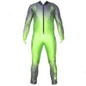 Spyder Performance GS Race Suit Mens, Theory Green-Polar, medium