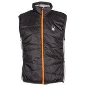 Spyder Exit Insulator Mens Vest, Polar-Cirrus-Bryte Orange, medium