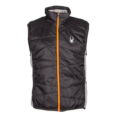 Spyder Exit Insulator Mens Vest (Previous Season), Polar-Cirrus-Bryte Orange, viewer
