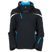 Spyder Artemis Womens Insulated Ski Jacket (Previous Season), Black-Riviera-White, medium