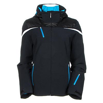 Spyder Artemis Womens Insulated Ski Jacket (Previous Season), Black-Riviera-White, viewer