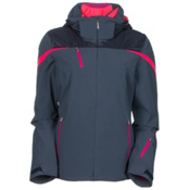 Spyder Artemis Womens Insulated Ski Jacket, Depth-Wild-Bryte Pink, medium