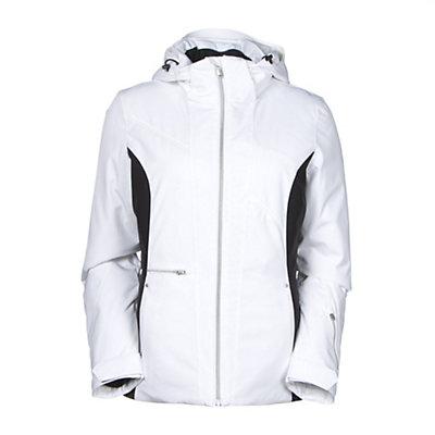 Spyder Prevail Womens Insulated Ski Jacket (Previous Season), Riviera-White-Riviera, viewer