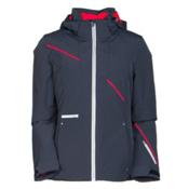 Spyder Prevail Womens Insulated Ski Jacket, Depth-White-Bryte Pink, medium