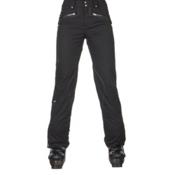 Spyder Me Tailored Fit Womens Ski Pants, Black Tech Flannel, medium