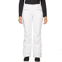 Spyder Me Tailored Fit Womens Ski Pants (Previous Season), White, 256