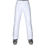 Spyder Winner Athletic Fit Womens Ski Pants (Previous Season), White, medium