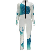 Spyder Nine-Ninety Race Suit Girls, White-Riviera, medium