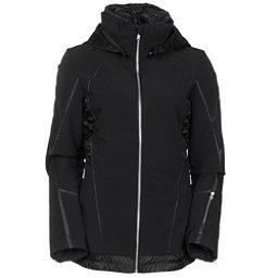 Spyder Prycise Womens Insulated Ski Jacket (Previous Season), Black-Black Denim, 256