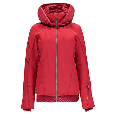 Spyder Prycise Womens Insulated Ski Jacket (Previous Season), Black-Black Denim, viewer