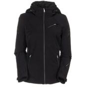 Spyder Radiant Womens Insulated Ski Jacket (Previous Season), Black, medium