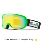 Giro Compass Goggles, Bright Green Frame Pop-Loden Y, medium