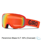 Giro Compass Goggles, Glowing Red Monotome-Persimmon, medium