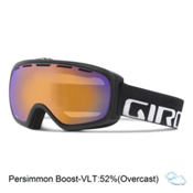 Giro Basis Goggles 2016, Black Wordmark-Persimmon Boost, medium
