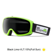 Giro Basis Goggles, Highlight Yellow Frame Pop-Bla, medium