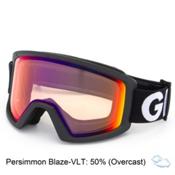 Giro Blok Goggles, Black Futura-Persimmon Blaze, medium