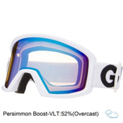 Giro Blok Goggles, White Futura-Persimmon Boost, medium