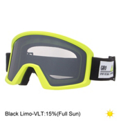 Giro Blok Goggles, Highlight Yellow Frame Pop-Black Limo, medium