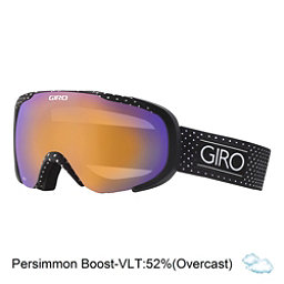 Giro Field Womens Goggles, Black Mini Dots-Persimmon Boos, 256