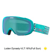 Giro Field Womens Goggles 2016, Turquoise Mosaic-Loden Dynasty, medium