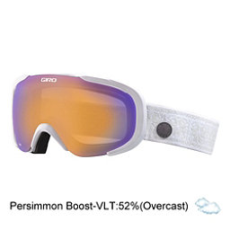Giro Field Womens Goggles, White Nordic-Persimmon Boost, 256