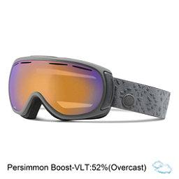Giro Amulet Womens Goggles, Titanium Laurel-Persimmon Boos, 256