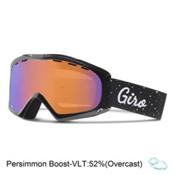 Giro Siren Womens Goggles, Black Hereafter-Persimmon Boos, medium