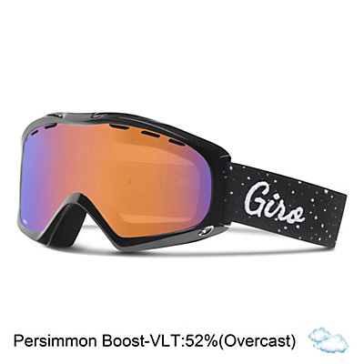 Giro Siren Womens Goggles, Black Hereafter-Amber Pink, viewer