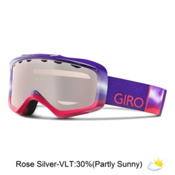 Giro Grade Kids Goggles, Purple Fade-Rose Silver, medium
