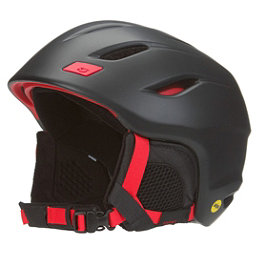 Giro Nine MIPS Helmet 2017, Matte Black-Bright Red, 256